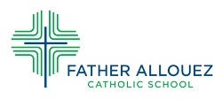 Father Allouez Logo